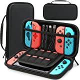 HEYSTOP Case Compatible with Nintendo Switch Protective Hard Portable Travel Carry Case Shell Pouch Compatible with Nintendo