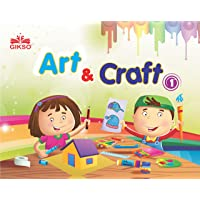Gikso Art and Craft 1 – Activity Book for Kids Age 4 to 7 Years Old Includes Colouring Activities (English)