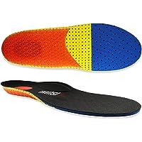 VISUAMA®   Solette Plantari Sport Per Scarpe Con Cuscinetti in Gel Unisex Uomo Donna Junior Con Supporto Ad Arco Sport…