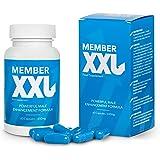 ✅MEMBER XXL Premium Puissance médicaments et agrandissement du pénis + 9cm, Puissance et l'aide à l'erection pour tous…