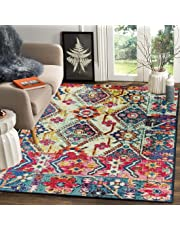 Status Multi Printed Vintage Persian Carpet Rug Runner for Bedroom/Living Area/Home with Anti Slip Backing