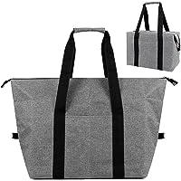 Kühltasche Faltbar 20L Große Einkaufstasche Picknicktasche mit Isolierung für Picknick, Camping, Einkauf…