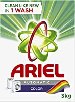 Ariel Color Automatic Laundry Powder Detergent 3 kg, Pack of 1