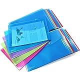 Rapesco 1495 Pochettes Porte-document A4+ - Lot de 50 - Couleurs Assorties