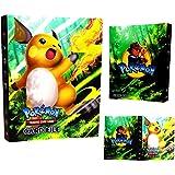 Dorara Classeur pour Cartes Pokemon, Albums Pokemon GX EX Trainer, Albums de Cartes à Collectionner, 30 Pages Peut contenir j