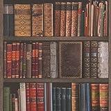 Rasch Wallpaper 934809 Traditional Bookcase