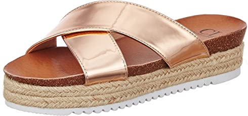 Carlton London Women's Sandra Fashion Sandals