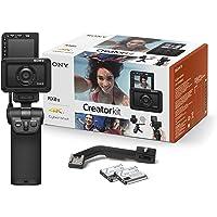 Sony RX0 II Creator Kit | Robuste, ultra-kompakte Kamera mit Aufnahmegriff VCT-SGR1 (1.0-Typ-Sensor, 24mm F4,0 Zeiss…