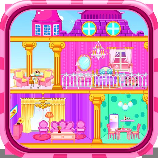 Princess doll house - Decoration game