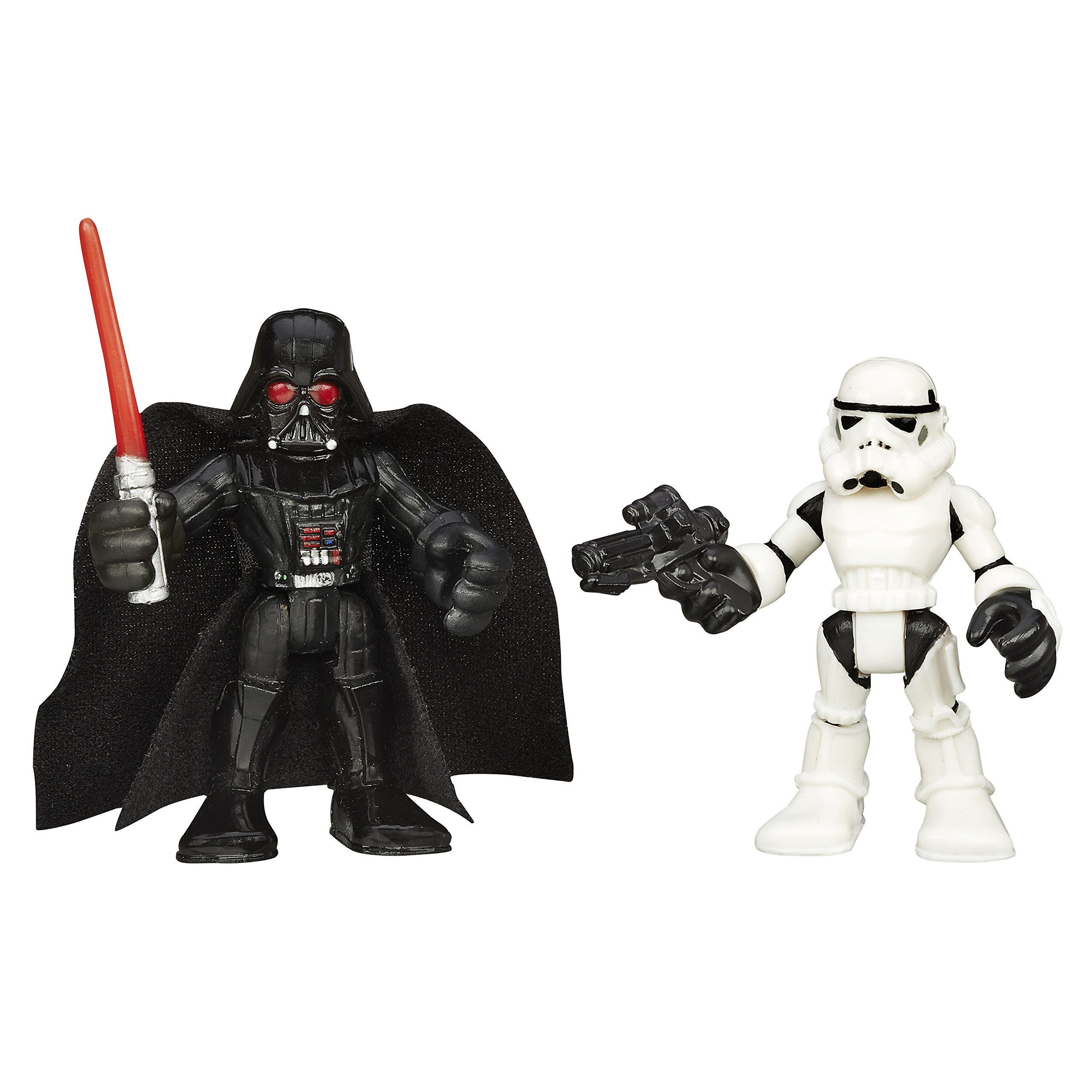 Playskool Heroes Star Wars Galactic Heroes Darth Vader y Stormtrooper