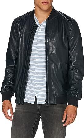 Superdry Men's Leather Light Bomber Jacket