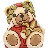 Ceramica Linea I Classici THUN /® h 7,5 cm Teddy Aquarius Segno Zodiacale Acquario