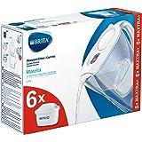 Brita Marella - Caraffa Filtrante per Acqua, 2.4 Litri, 6 Filtri Maxtra+ inclusi