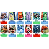 Shopkooky Multicolour Cartoon Printed LED Night Lamps Perfect for Your Kids Room (Pack of 12)