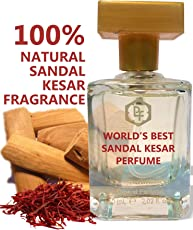 Parag fragrances Sandal-Kesar Attar Perfume Natural Fragrance (60ml)