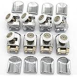 Douchecabinerollen, 8 afzonderlijke wielen, 23 mm, delen voor badkamer