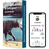Invoxia - Pet Tracker - Mini Traceur pour Chat et Chien - Suivi d'Activité Bien-être et Zone GPS - Abonnement 3 Ans Inclus &