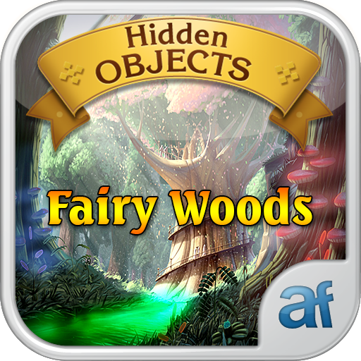 Hidden Objects Fairy Woods & 3 puzzle games