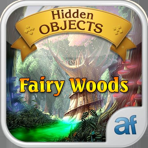 Hidden Objects Fairy Woods & 3 puzzle games (Für Hangman-spiele Halloween)