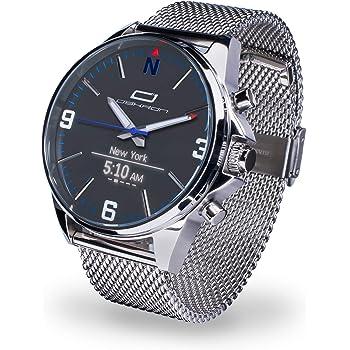 Oskron Gear Herrenschmuckuhr mit Smartwatch Funktionen