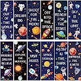 36 Piezas Marcadores de Libros Magnéticos Marcadores de Página Magnéticos de Tema de Cielo Estrellado Clip de Página Magnétic