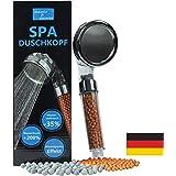 SPA douchekop waterbesparend met drukverhoging • 200% meer waterdruk • kalkfilter douche handdouche • 344 watergaten • Zen do