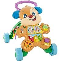 Fisher-Price Cagnolino Primi Passi Spingibile, Giocattolo Elettronico Educativo con Musica e Suoni, per Bambini di 6…