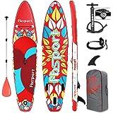 FBSPORT Tabla Sup Hinchable, Tabla de Stand Up Paddling, Tabla Paddle Surf Hinchable, Tabla de Sup Hinchable, Tabla de Surf K