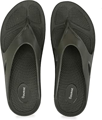 Bourge Men's Canton-z55 Flip Flops
