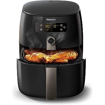 Philips HD9741/10 Airfryer Noir - faites cuire, frire, rôtir, griller tous vos aliments