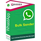 Shivex WhatsApp Bulk Message Sender Software, Lifetime Validity, Full Support on call, Work with Windows 7, 8, 10…