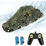 EACHINE EB01 RC Juguetes Barco de Control Remoto Teledirigido Alta Velocidad 2.4G 15km/h 30 mins Simulación Crocodile Adultos