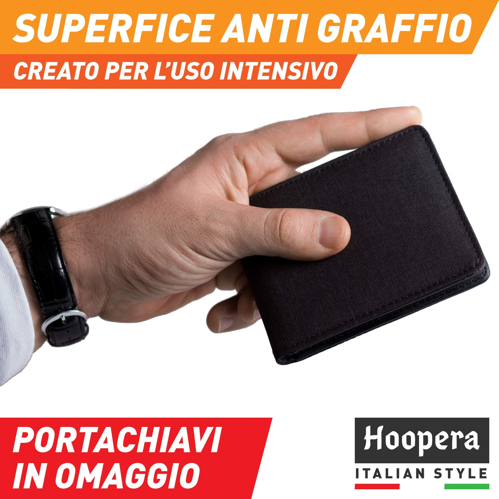 cf475411b3 Portafoglio Uomo Piccolo Hoopera | Porta Carte Di Credito ...
