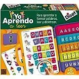Diset 63752 – zestaw do nauki czytania, teczka, edukacyjna (63715) zabawka edukacyjna od 4 lat