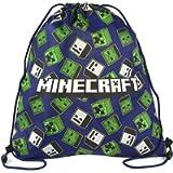Minecraft Creeper Zombie Skeleton All Over Print Drawstring Swim Bag