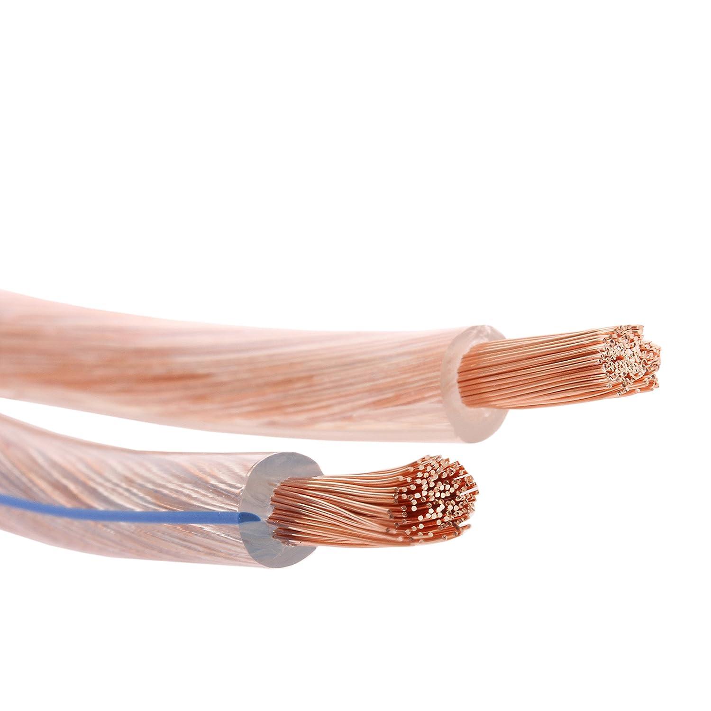 Misterhifi 50 m Lautsprecherkabel 2 x 4,0 mm²: Amazon.de: Elektronik