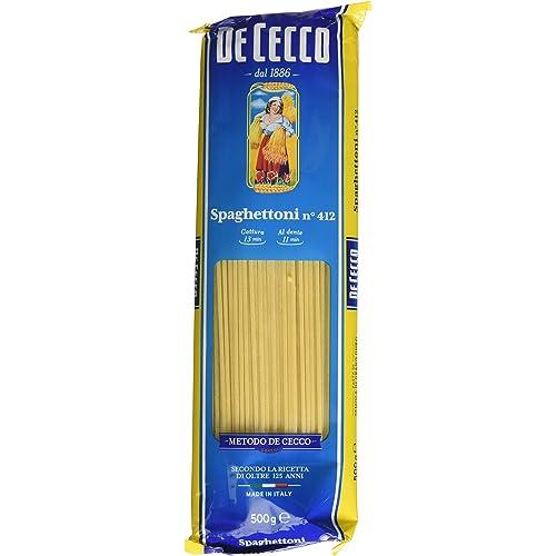 De Cecco Spaghettoni n° 412 - 2 kg (4 x 500 g)