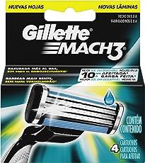 GILLETTE Mach 3 4 Pz, 1er Pack