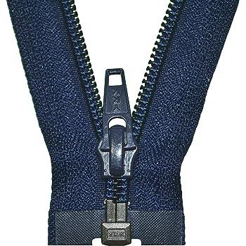 YKK Reißverschluss 1 Weg teilbar marineblau 80 cm Kunststoff spirale