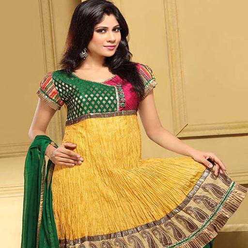 Umbrella Dress Designs For Indian Girls Vol 2 - Kameez Kurti