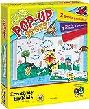 Creativity for Kids - Cfk1093 - Kit De Loisirs Créatifs - Créez Toi-même Des Livres À Reliefs Pop-up