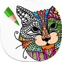Katzen Malbuch für Erwachsene