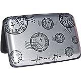 NIGHTMARE STYLE Tarjetero con función Bloqueo RFID y NFC (GrisPlata). Porta-Tarjetas Hombre o Mujer.Pasaporte Seguro.Equipaje