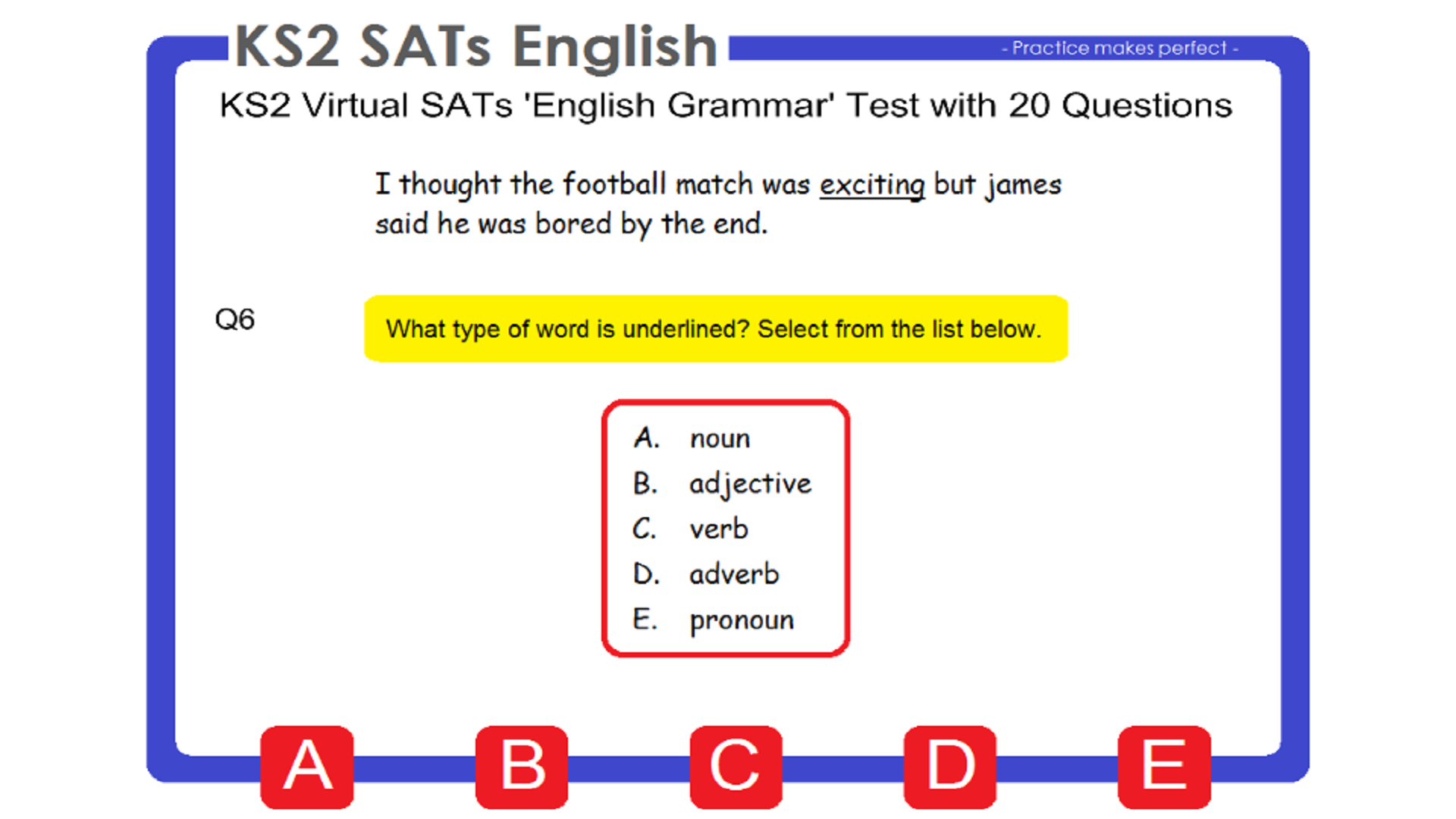 Worksheet Adverb List Ks2 ks2 sats english amazon co uk appstore for android 000