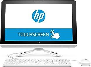 HP (22-b062ng) (1ED82EA) 54,6 cm (21,5 Zoll / FHD-IPS Touchscreen) All-in-One Desktop PC (AMD Quad-Core A6-7310 APU, 4 GB RAM, 1 TB HDD, AMD Radeon R4-Grafikkarte, Windows 10 Home 64) weiß