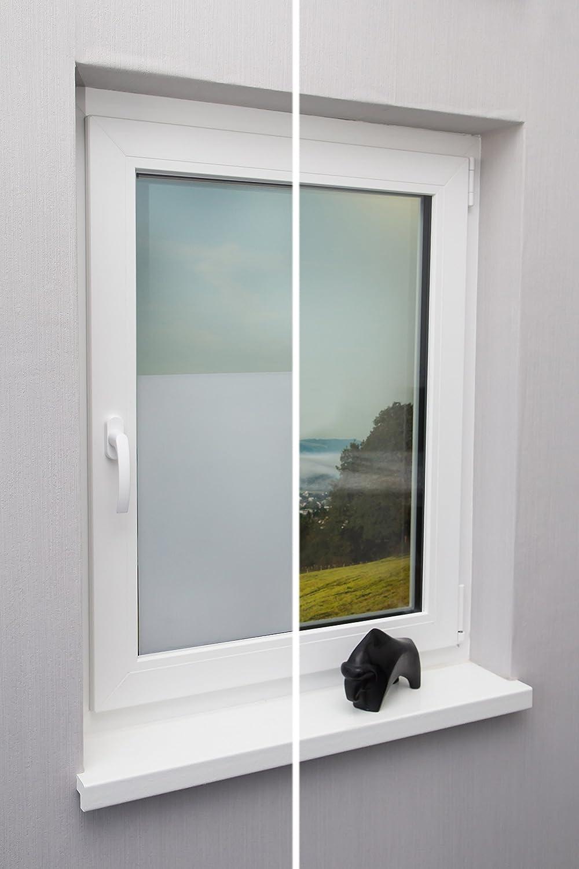 Amazon Fensterfolie Sichtschutzfolie Milchglasfolie Weiss