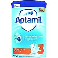 Aptamil Latte in Polvere Formulato Crescita per Neonati, Stage 3, 4 Pezzi - 3.2 Kg