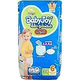 Baby Joy Diapers Culotte Unisex Jumbo Xxl Size 6-30 Plus 4 Pieces