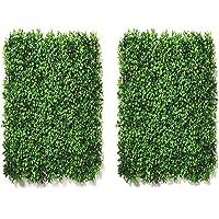 Go Hooked Artificial Grass (Green, 2 Piece)