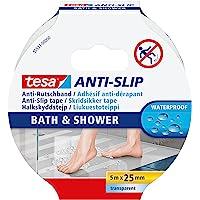Tesa ANTI-SLIP Adhésif Antidérapant Bain & Douche Waterproof – Bande Adhésive Antidérapante de Protection pour Surfaces…